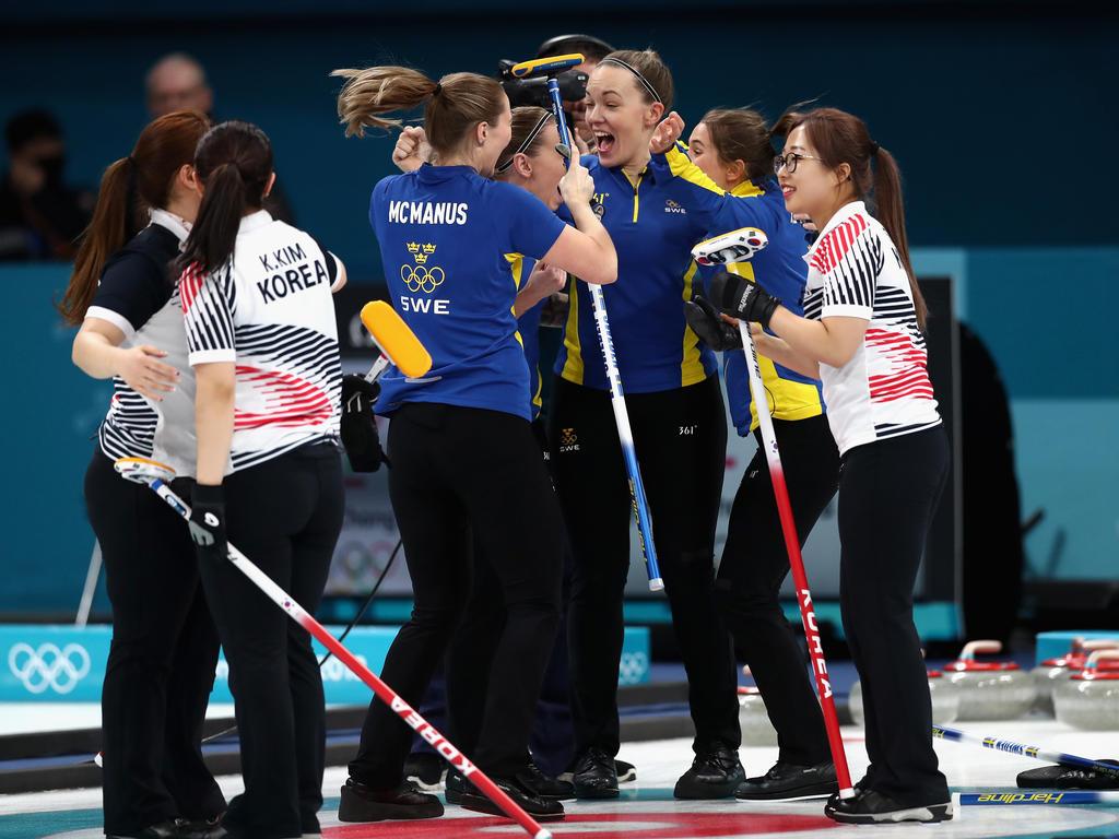 Eiskalte Schwedinnen Curlen Sich Zum Olympiagold