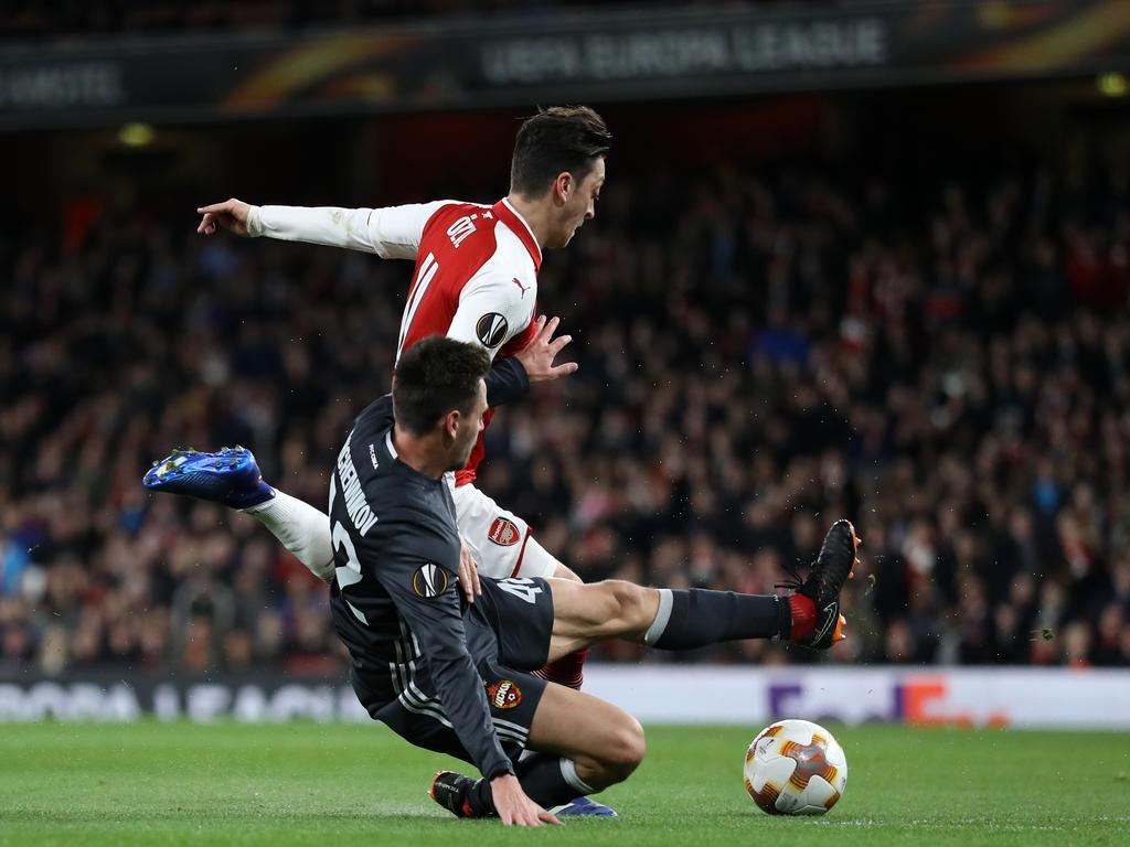 Mesut Özil war überragender Mann bei Arsenals Sieg gegen Moskau
