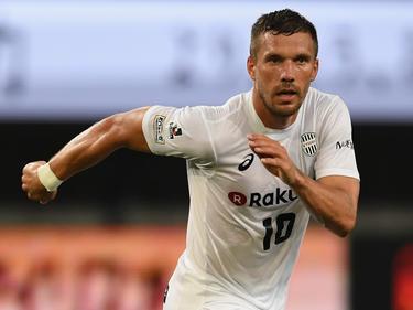 Verlor mit Vissel Kobe im eigenen Stadion: Lukas Podolski