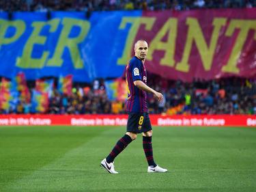 Iniesta y su adiós fue la atracción de un partido sin nada en juego. (Foto: Getty)