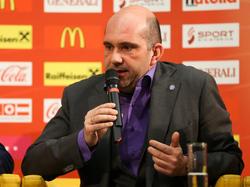 Ralf Muhr darf sich bei der Austria über eine Beförderung freuen