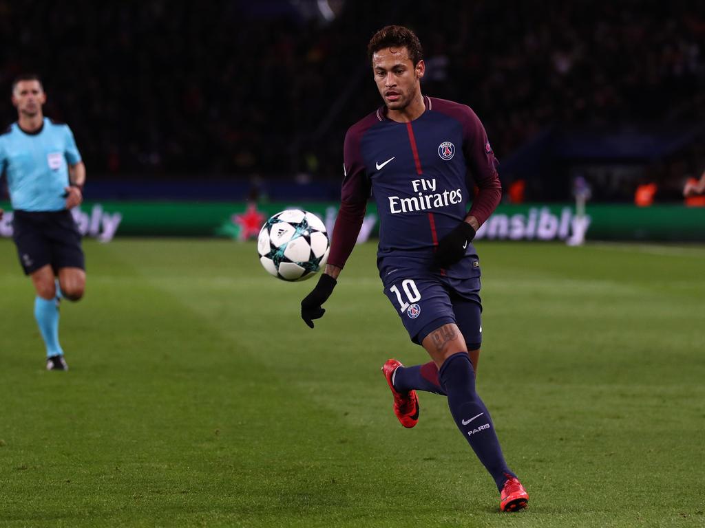 Neymar hat sich vorerst für einen Verbleib in Paris entschieden
