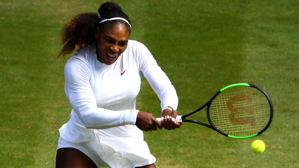 Serena Williams benötigte gegen Camila Giorgi drei Sätze