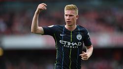 Spielmacher Kevin De Bruyne könnte Manchester City länger fehlen