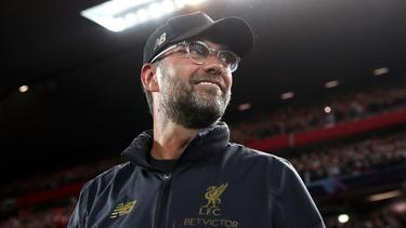 Jürgen Klopp will den siebten Sieg im siebten Ligaspiel