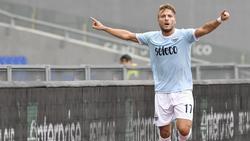 Ciro Immobile bleibt Lazio Rom treu