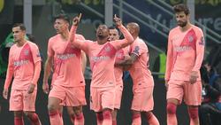 Der FC Barcelona steht im Achtelfinale