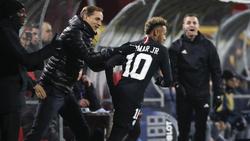 Thomas Tuchel und Neymar verstehen sich blendend