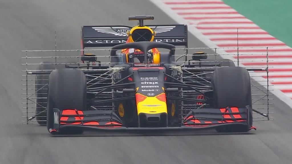 Max Verstappen is driving his first meter on Thursday