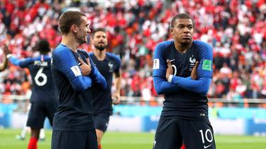 Antoine Griezmann und Kylian Mbappé holten mit Frankreich den WM-Titel