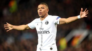 Kylian Mbappé ist der Star am französischen Fußball-Himmel