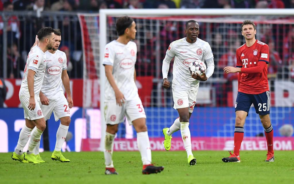 Dodi Lukebakio traf in der Hinrunde gegen den FC Bayern dreifach