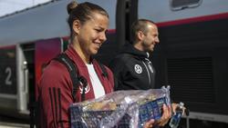 Lena Oberdorf beeindruckte bei ihrem WM-Debüt im Spiel gegen China