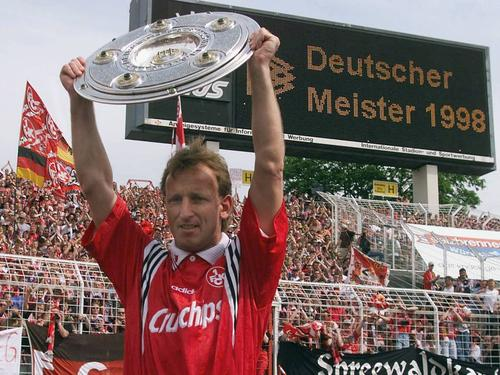 Andreas Brehme wurde mit dem FCK 1998 sensationell Meister