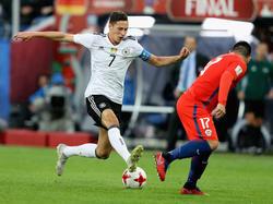Julian Draxler ist zum besten Spieler des Confed Cups ausgezeichnet worden
