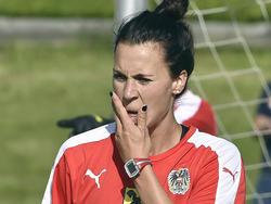 Viktoria Schnaderbeck wird vom Knochenmarksödem ausgebremst
