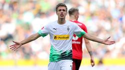 Borussia Mönchengladbach und Patrick Herrmann haben derzeit viel Grund zum Jubeln