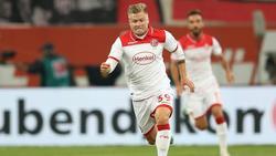 Jean Zimmer von Fortuna Düsseldorf fällt mit einem Muskelfaserriss vorerst aus