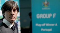 Bundestrainer Joachim Löw am Samstag in Bukarest