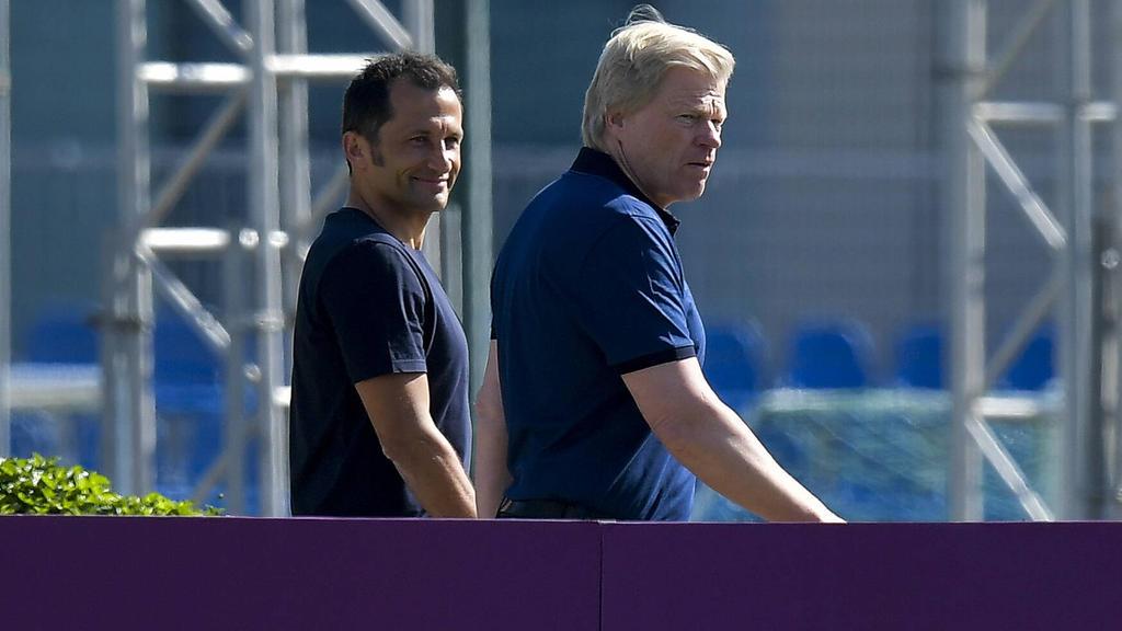 Die sportliche Führung des FC Bayern schweigt nach dem Konter des BVB