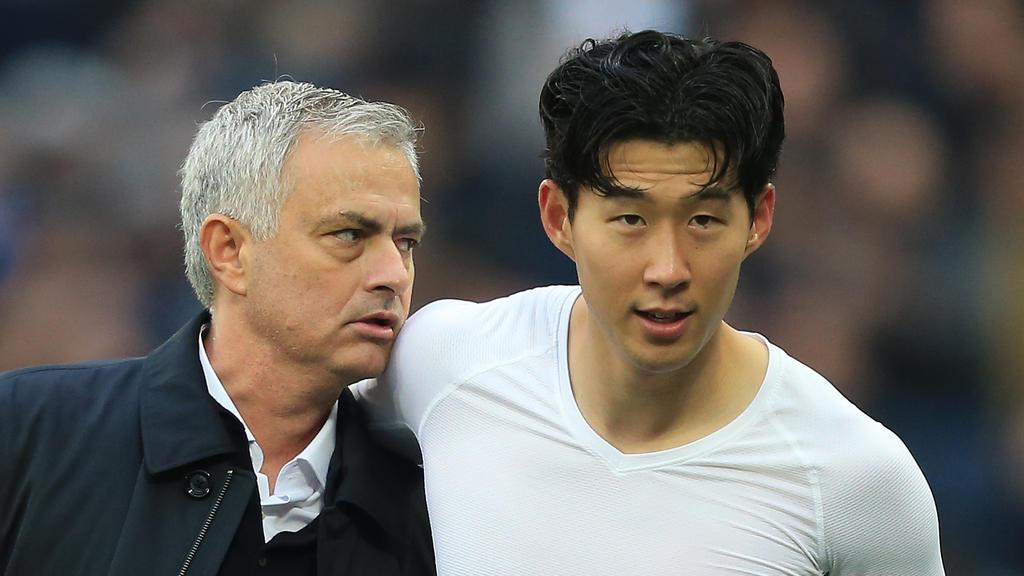 Mourinho y Son en una imagen reciente.