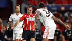 Mario Götze spielt mit Eindhoven nicht in der Champions League