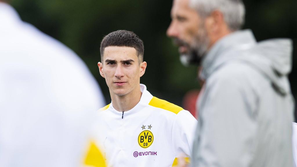 Göktan Gürpüz will sich bei den BVB-Profis durchsetzen