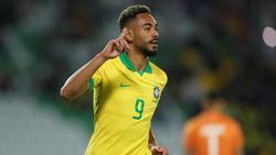 Matheus Cunha traf erneut für Brasiliens U23