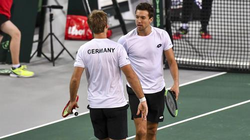 Krawietz/Mies brachten Deutschland mit 2:1 in Führung