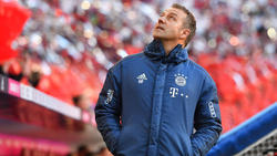 Hansi Flick sah müde Beine bei den Profis des FC Bayern