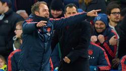 Mit dem Auftritt des FC Bayern sehr zufrieden: Hansi Flick
