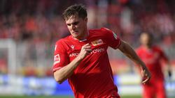 Ist mit sieben Ligatreffern zweitbester Torschütze bei Union Berlin: Leihspieler Marius Bülter