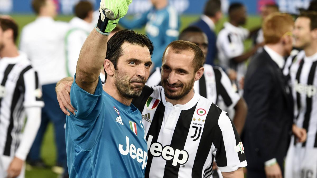 Gianluigi Buffon und Giorgio Chiellini bleiben Juventus erhalten
