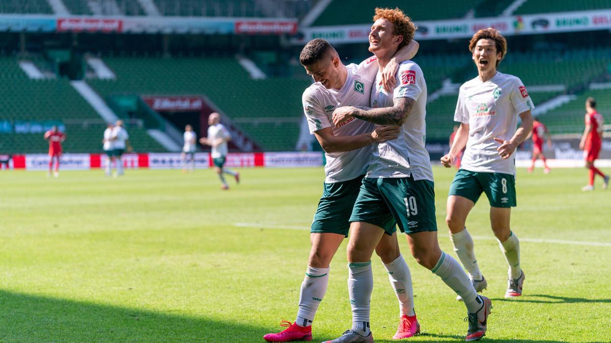 Werder Bremen schoss Köln mit 6:1 aus dem Stadion