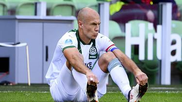 Arjen Robben erlebt beim FC Groningen keinen Start nach Maß