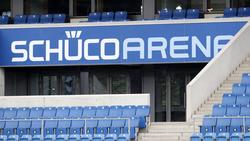 Die Schüco-Arena wird beinahe leer bleiben