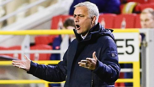 José Mourinho ärgerte sich über die Leistung seiner Mannschaft