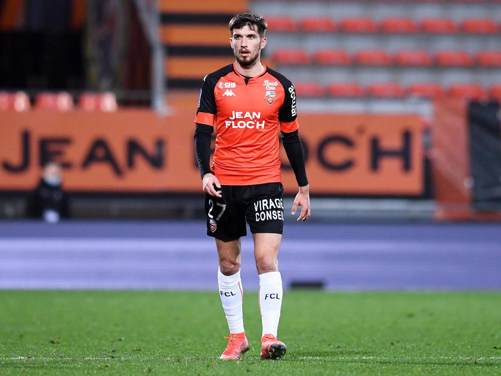 Adrian Grbić hat bei Lorient einen schweren Stand
