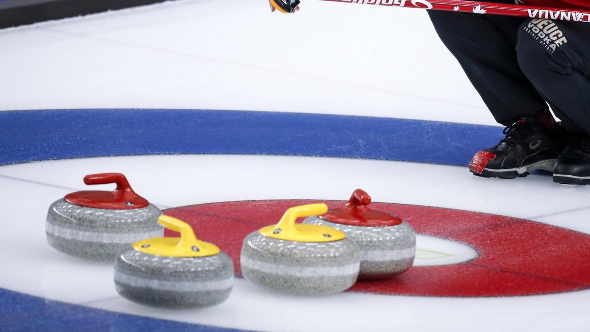 Die Curling-WM ist unterbrochen