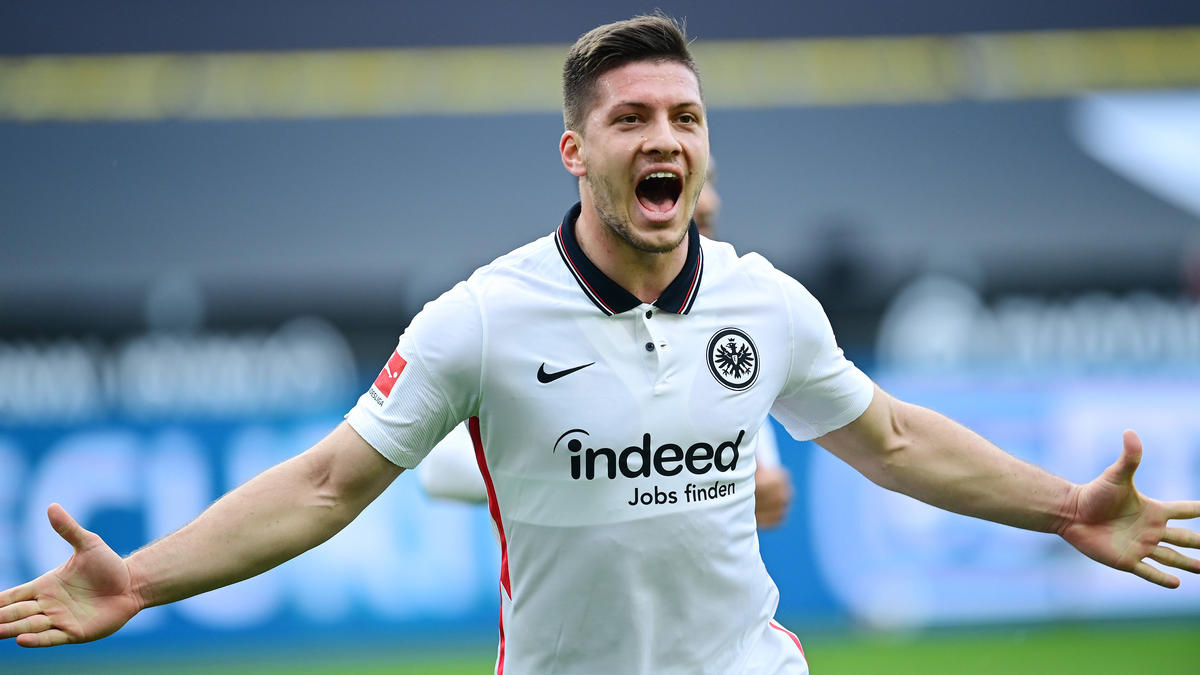 Verlässt Eintracht Frankfurt nach aktuellem Stand wieder: Luka Jovic