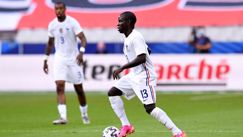 N'golo Kanté greift mit der französischen Nationalmannschaft bei der EM an