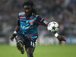 Nach sechs Jahren in Saint-Étienne wechselte Bafetimbi Gomis 2009 zu Olympique Lyon