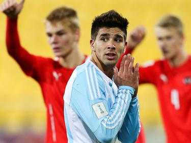 Für Argentiniens Jungstar Giovanni Simeone ist die WM zu Ende