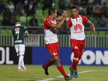 Wilson Morelo volvió a marcar en Libertadores. (Foto: Imago)