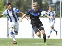 Morten Hjulmand (r.) verstärkt zur kommenden Saison die Admira. © imago/GlobalImagens