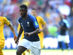 Ousmane Dembélé muss wohl auf der Bank Platz nehmen