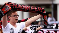 Die Eintracht-Fans dürfen ihre Mannschaft nicht nach Marseille begleiten