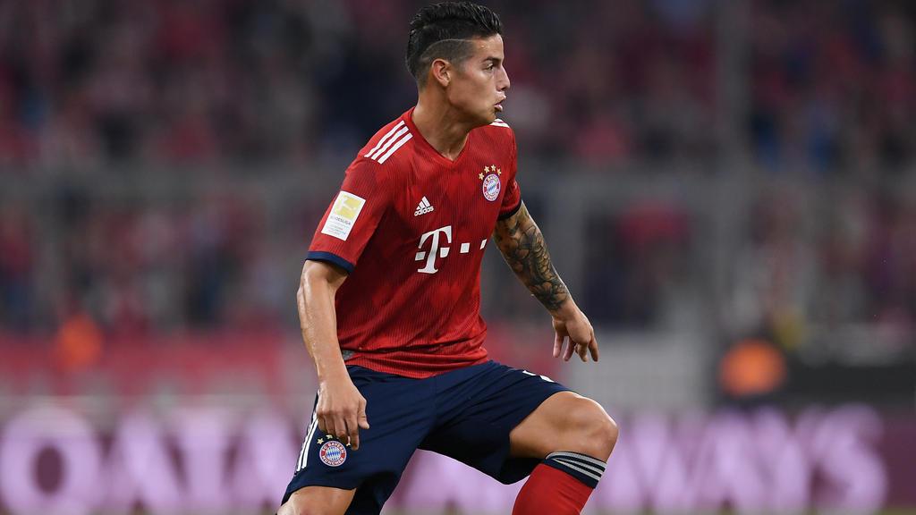 James Rodríguez glänzt momentan nur selten im Bayern-Trikot
