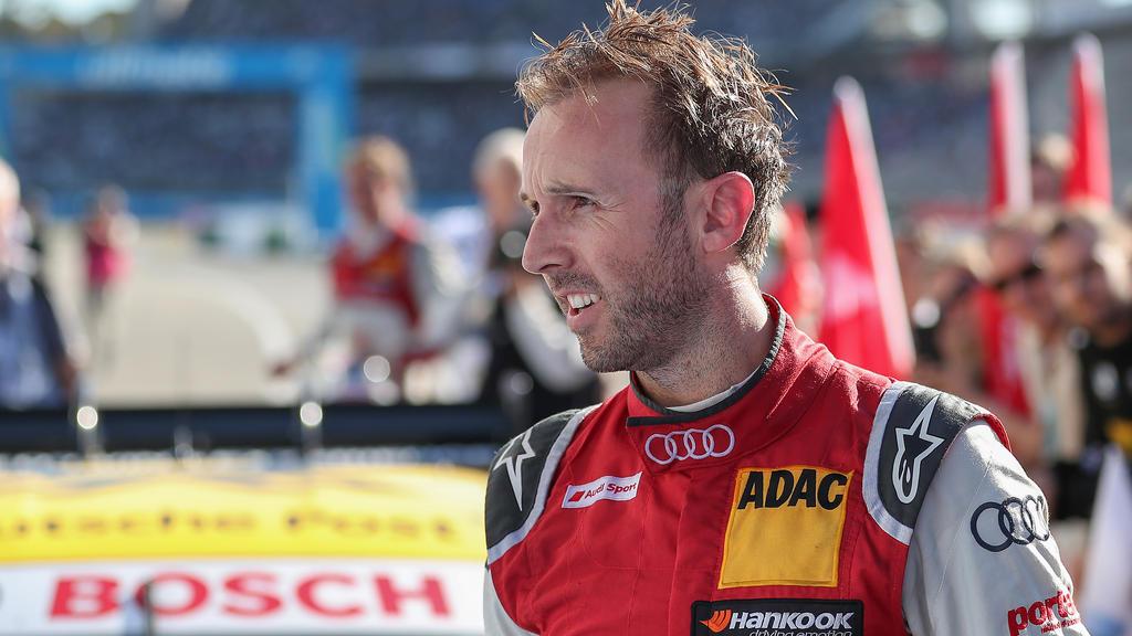 Rene Rast gewann das DTM-Samstagsrennen in Hockenheim