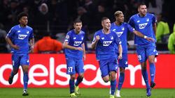 Hoffenheim erzielte in der zweiten Halbzeit zwei Treffer